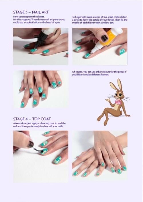 Cadbury's caramel. Nail Art. Wah style nails